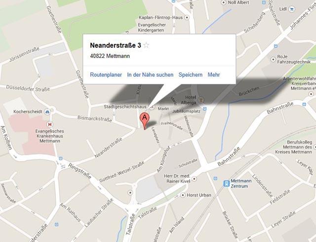 fußweg berechnen google maps